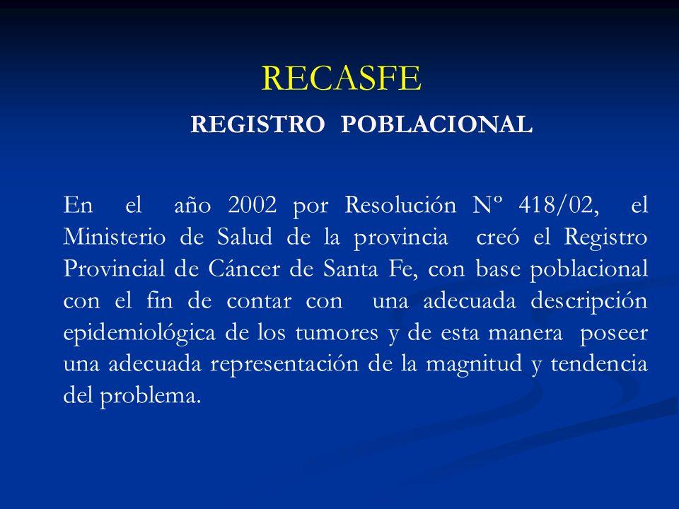 RECASFE REGISTRO POBLACIONAL