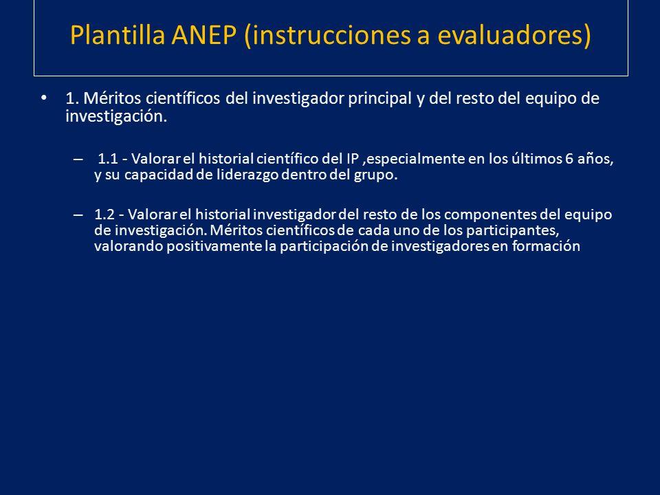 Plantilla ANEP (instrucciones a evaluadores)