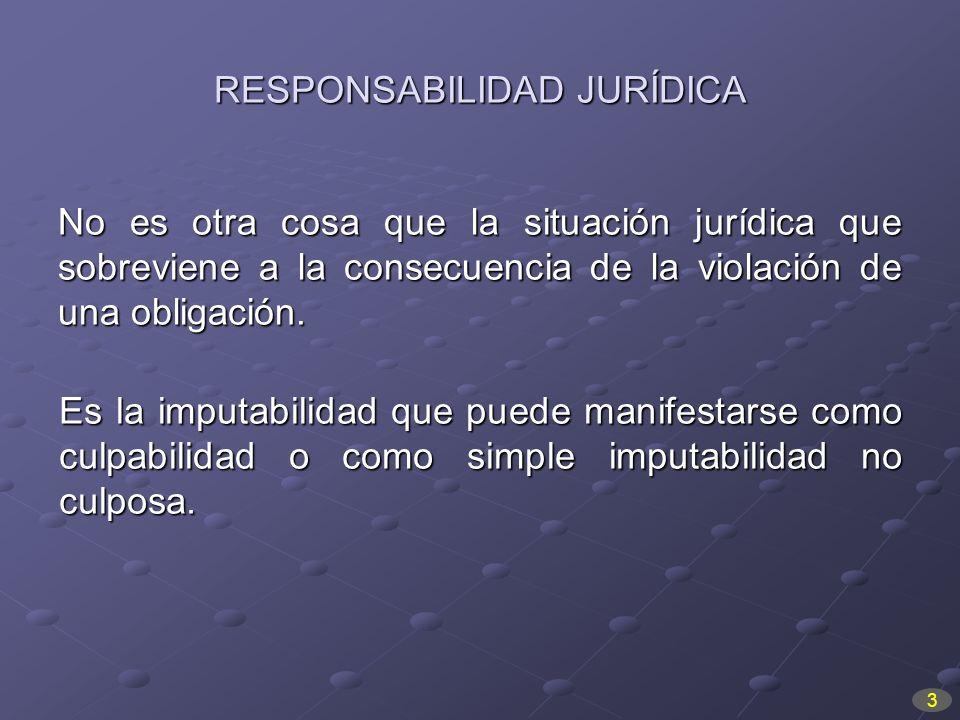 RESPONSABILIDAD JURÍDICA
