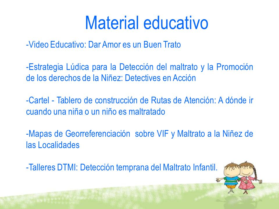 Material educativo Video Educativo: Dar Amor es un Buen Trato