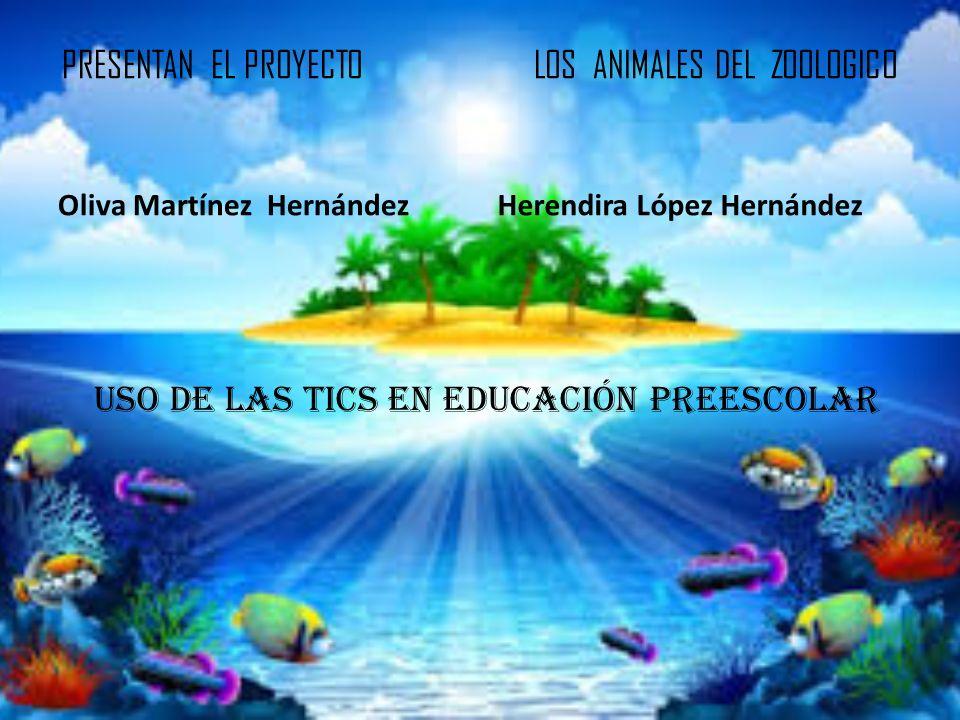 PRESENTAN EL PROYECTO LOS ANIMALES DEL ZOOLOGICO