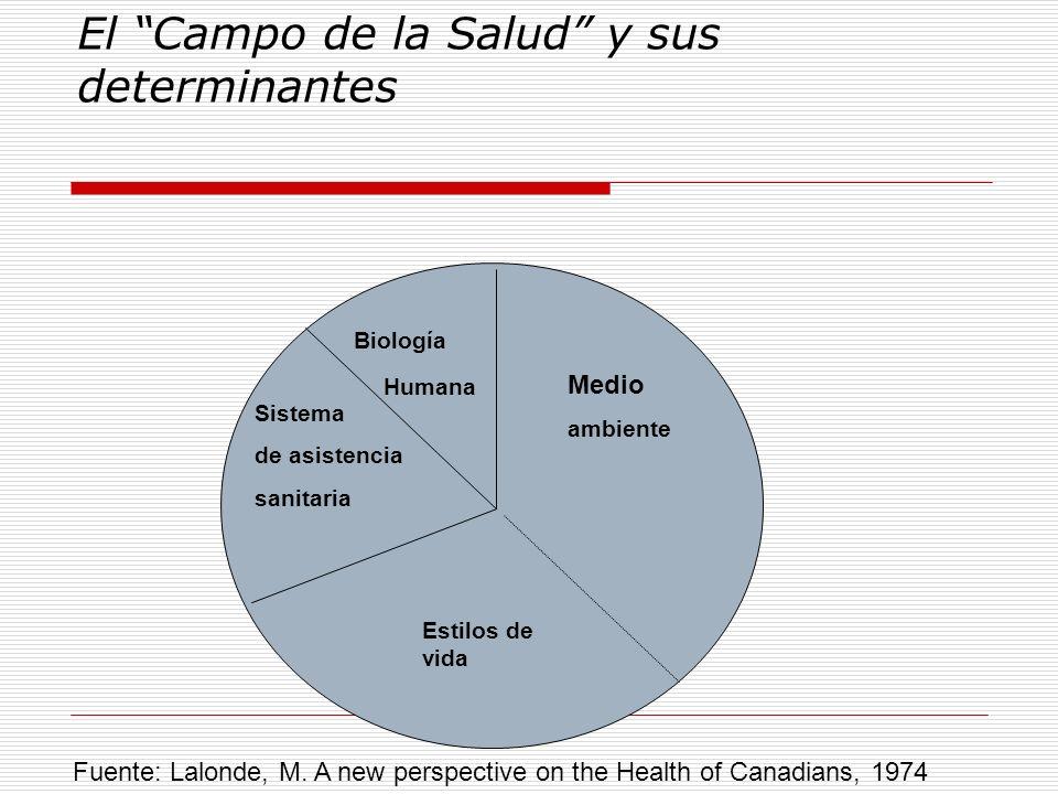 El Campo de la Salud y sus determinantes