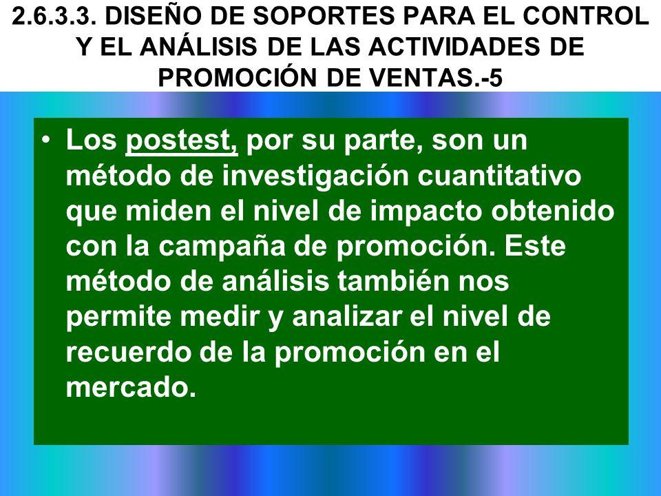 2.6.3.3. DISEÑO DE SOPORTES PARA EL CONTROL Y EL ANÁLISIS DE LAS ACTIVIDADES DE PROMOCIÓN DE VENTAS.-5