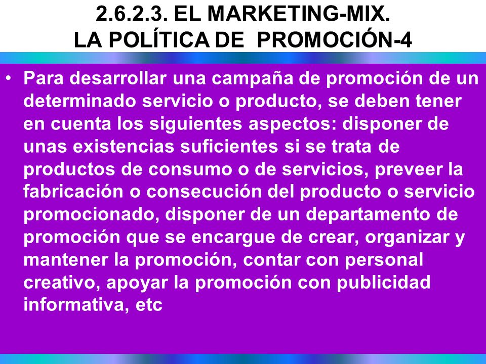 2.6.2.3. EL MARKETING-MIX. LA POLÍTICA DE PROMOCIÓN-4