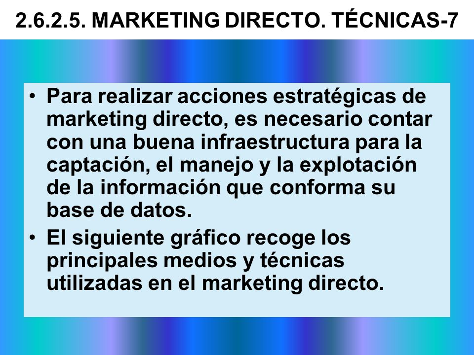2.6.2.5. MARKETING DIRECTO. TÉCNICAS-7