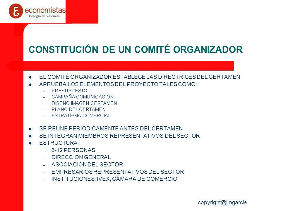 CONSTITUCIÓN DE UN COMITÉ ORGANIZADOR