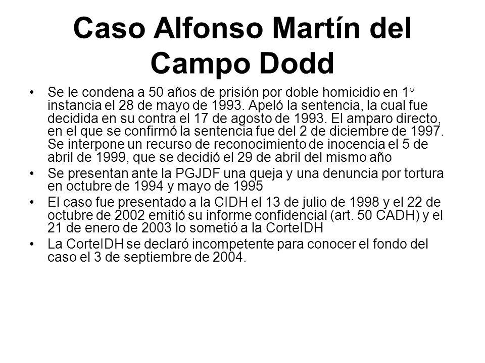 Caso Alfonso Martín del Campo Dodd