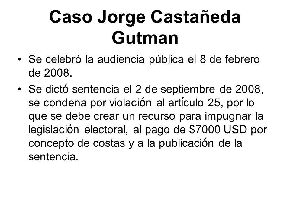 Caso Jorge Castañeda Gutman