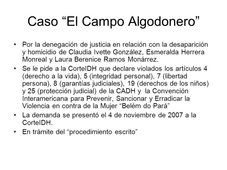 Caso El Campo Algodonero