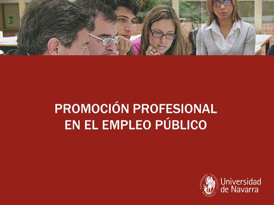 PROMOCIÓN PROFESIONAL EN EL EMPLEO PÚBLICO