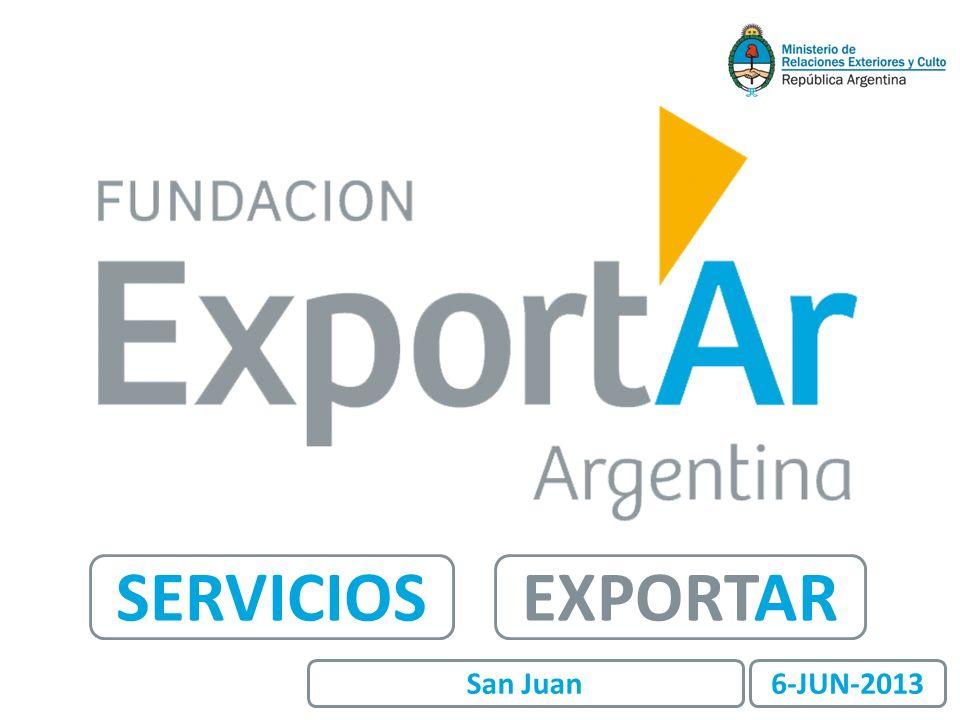 SERVICIOS EXPORTAR San Juan 6-JUN-2013