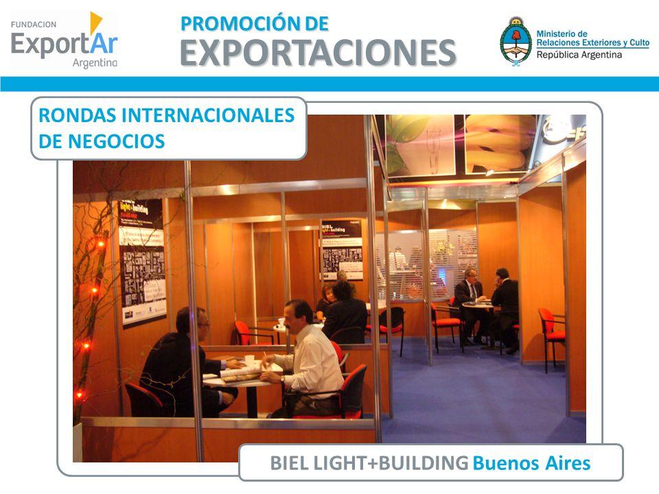 BIEL LIGHT+BUILDING Buenos Aires