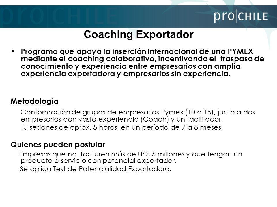 Coaching Exportador