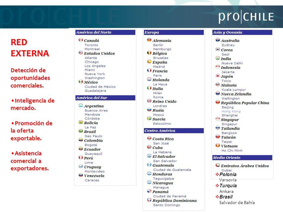 RED EXTERNA Detección de oportunidades comerciales.