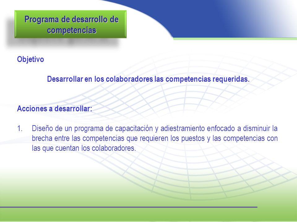 Programa de desarrollo de competencias