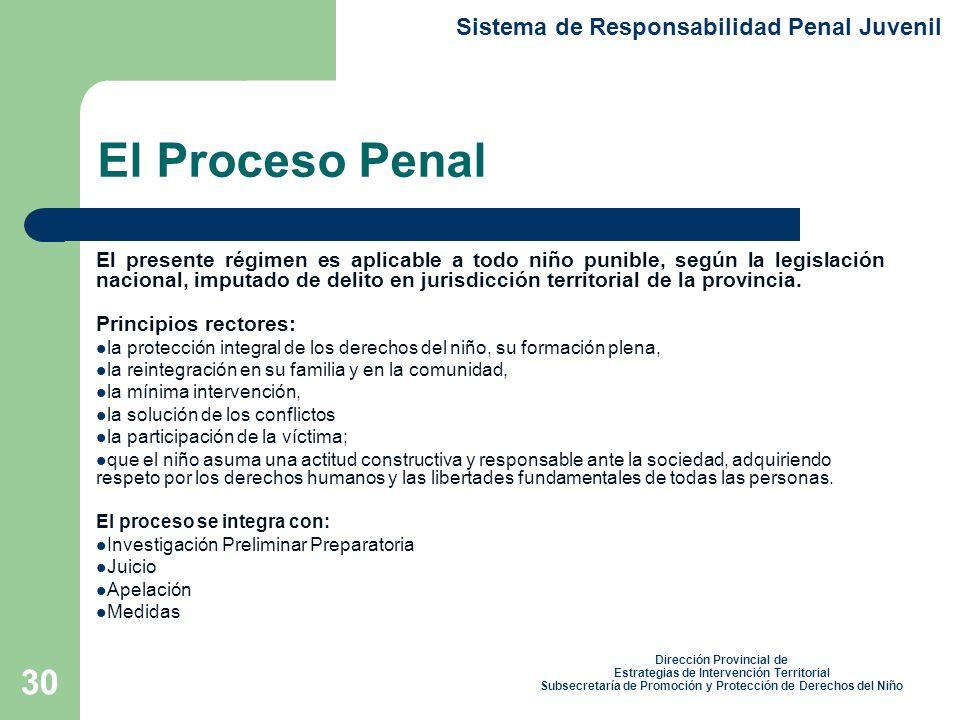 El Proceso Penal Sistema de Responsabilidad Penal Juvenil