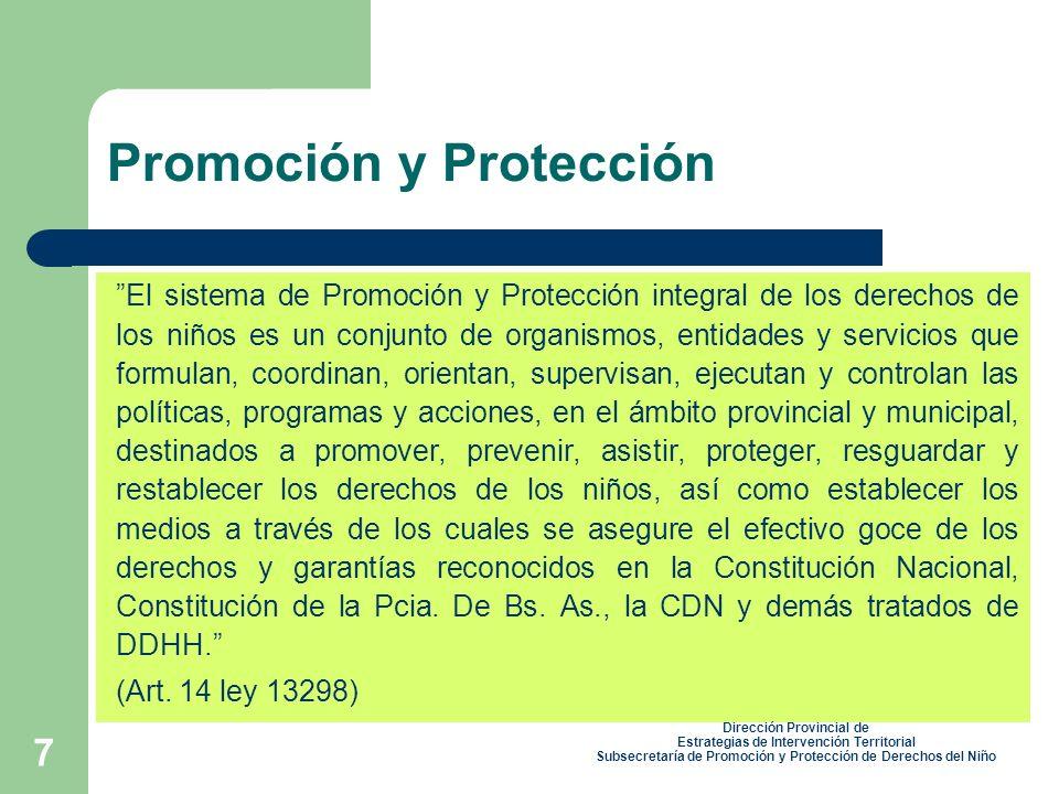 Promoción y Protección