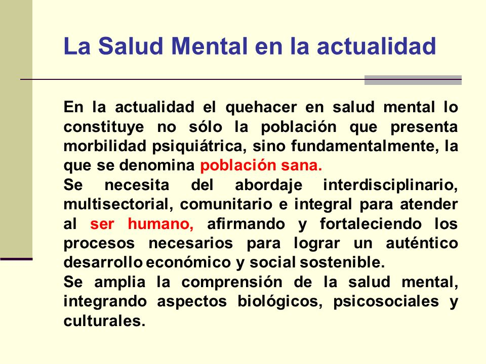 ESTRATEGIA SANITARIA DE SALUD MENTAL/MINSA