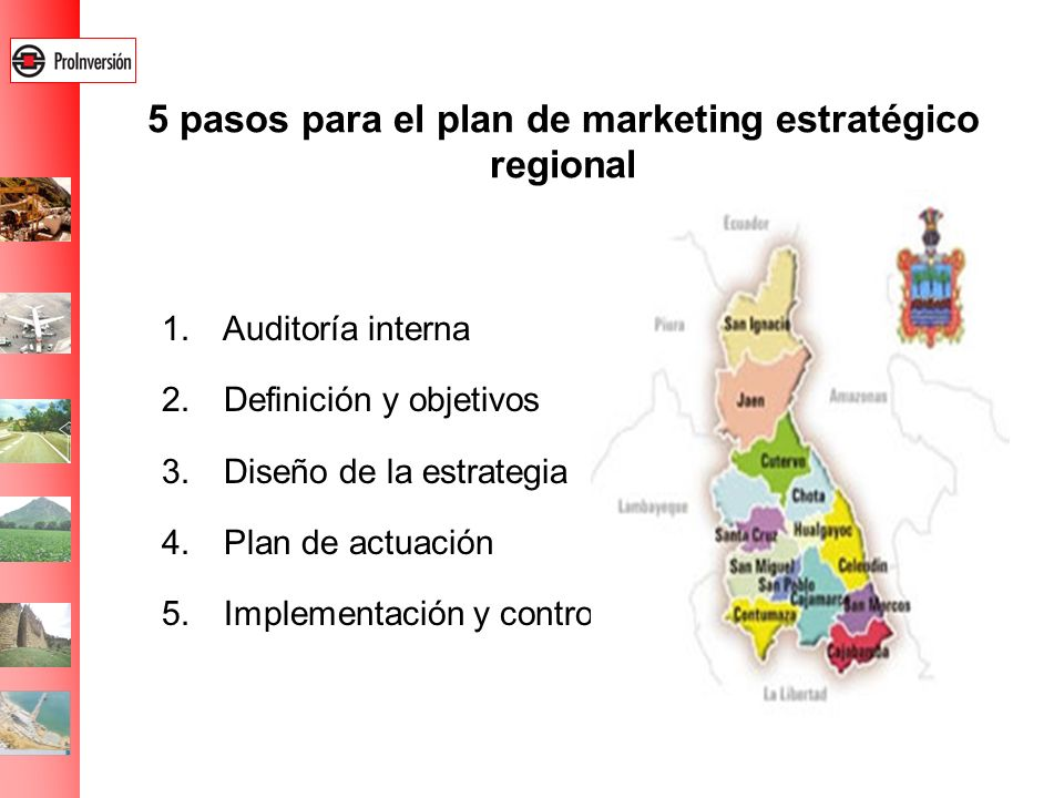 5 pasos para el plan de marketing estratégico regional