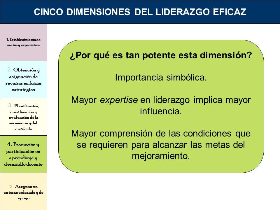 CINCO DIMENSIONES DEL LIDERAZGO EFICAZ
