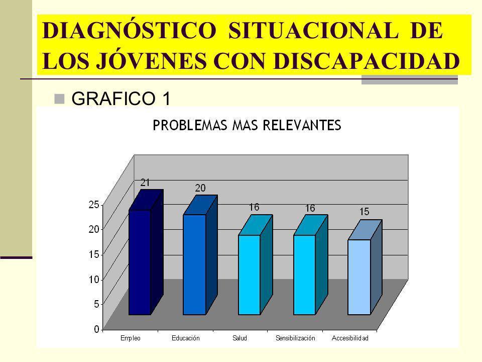 DIAGNÓSTICO SITUACIONAL DE LOS JÓVENES CON DISCAPACIDAD