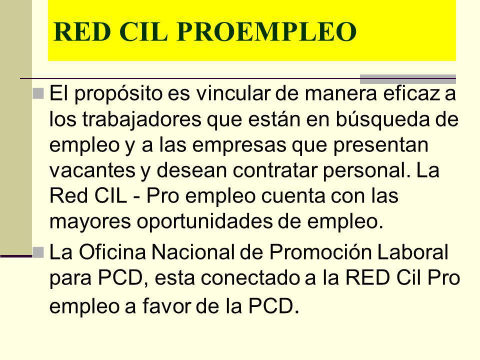 RED CIL PROEMPLEO