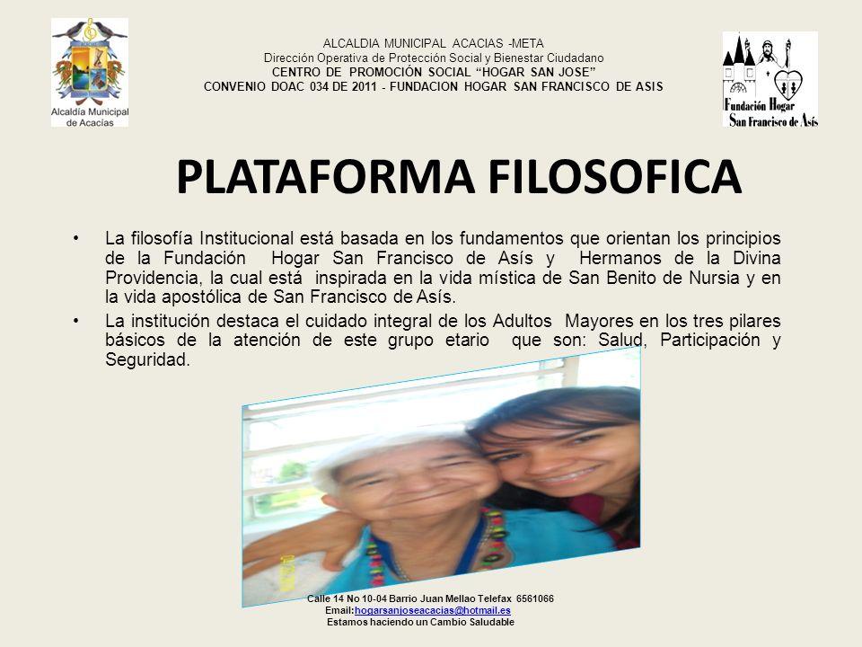 PLATAFORMA FILOSOFICA