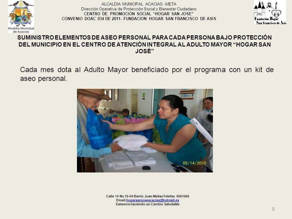 Calle 14 No 10-04 Barrio Juan MellaoTelefax 6561066