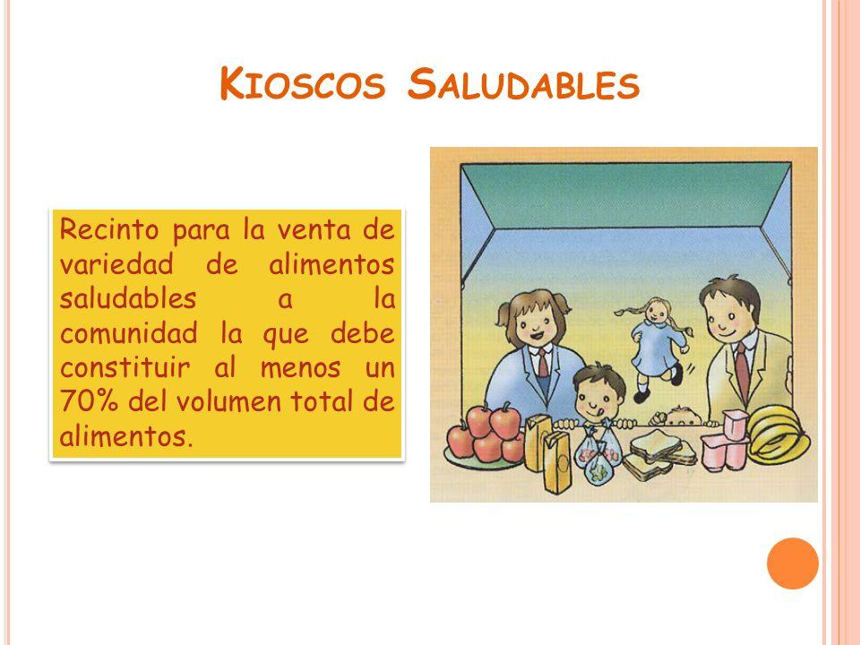 Kioscos Saludables