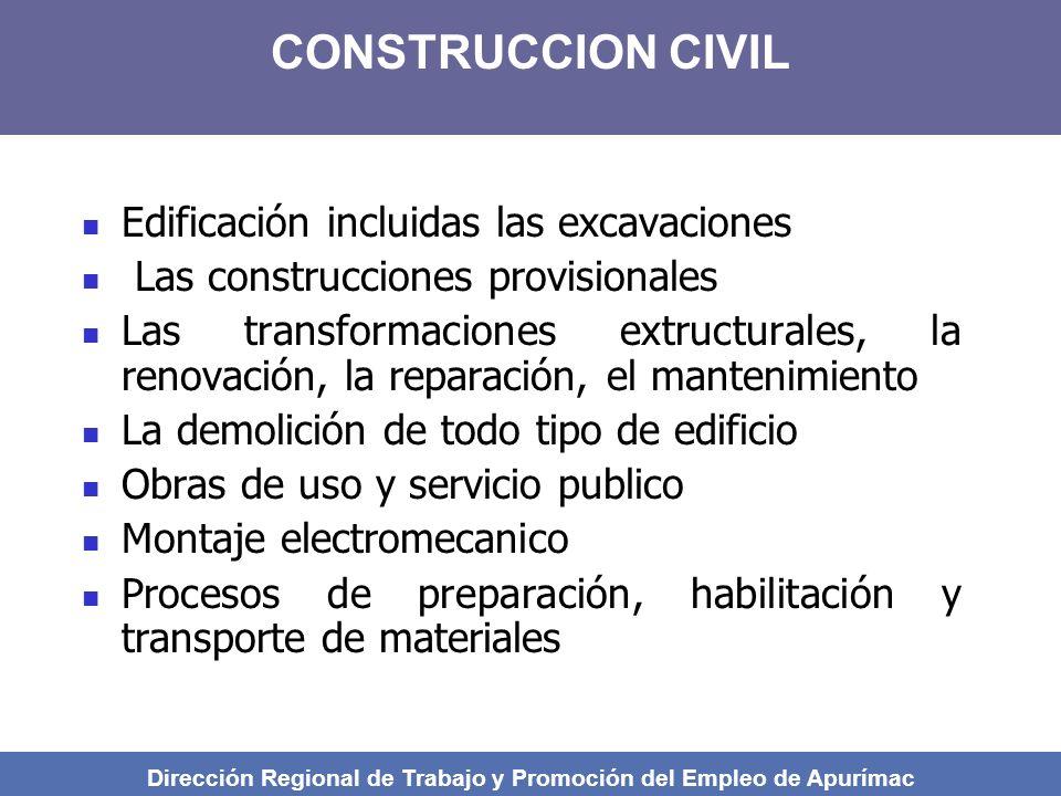 Dirección Regional de Trabajo y Promoción del Empleo de Apurímac
