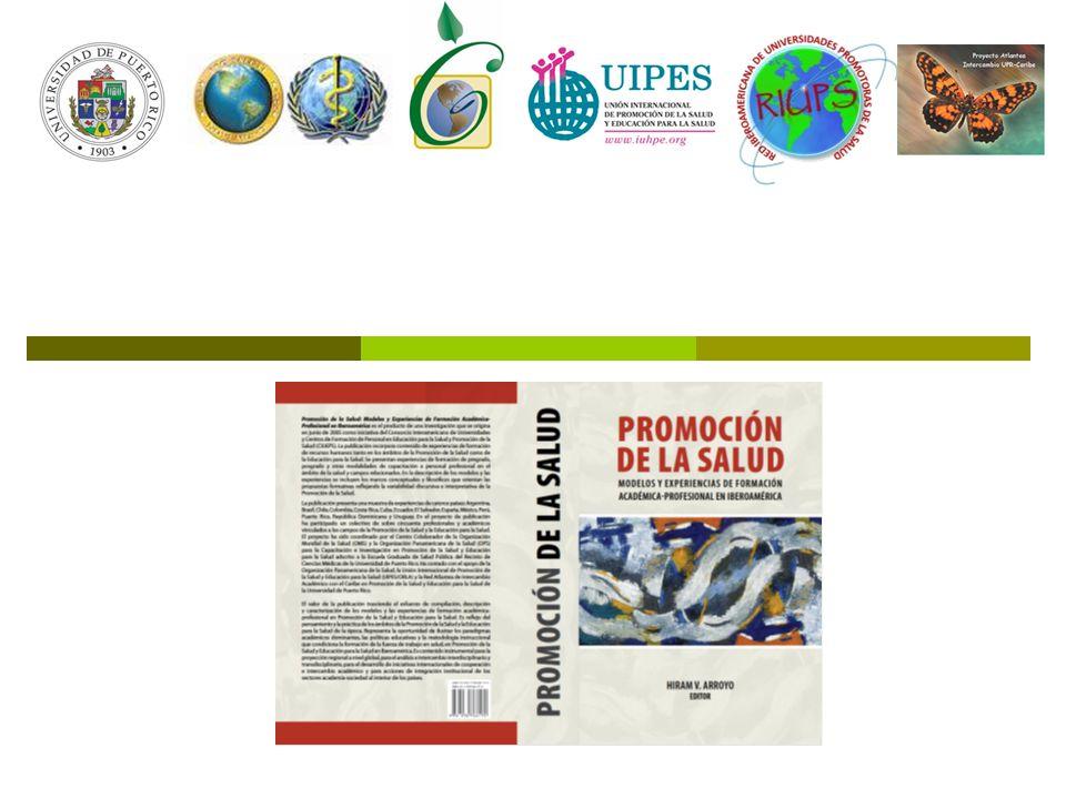 Presentación del libro: Promoción de la Salud