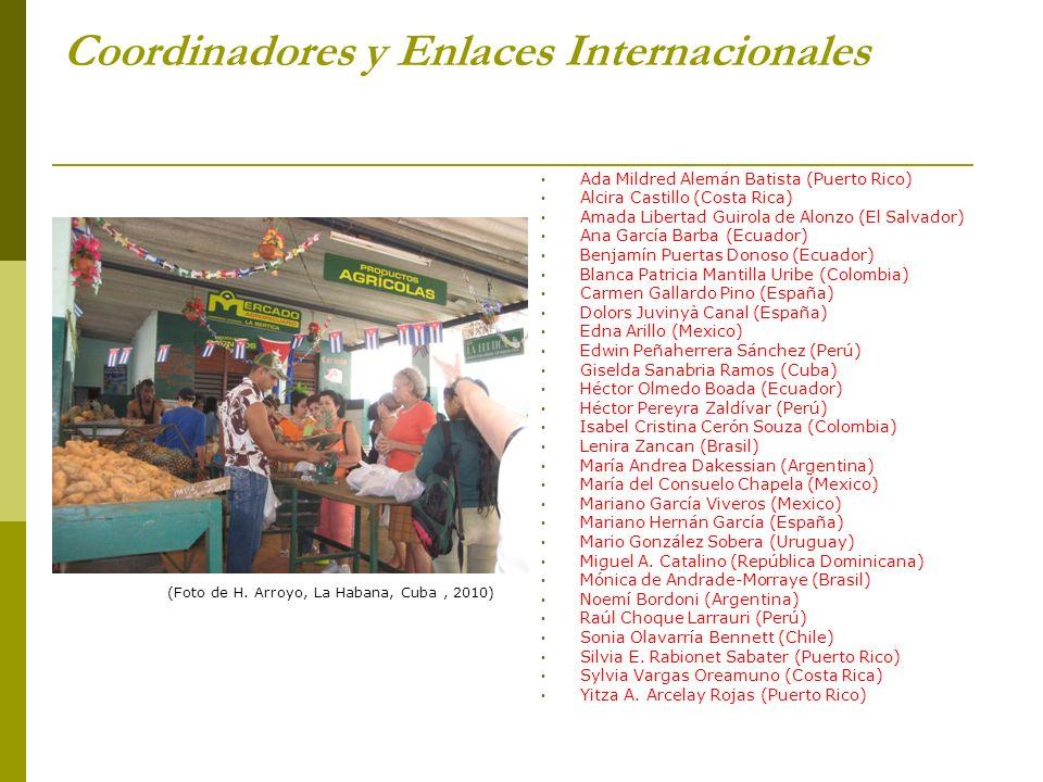 Coordinadores y Enlaces Internacionales