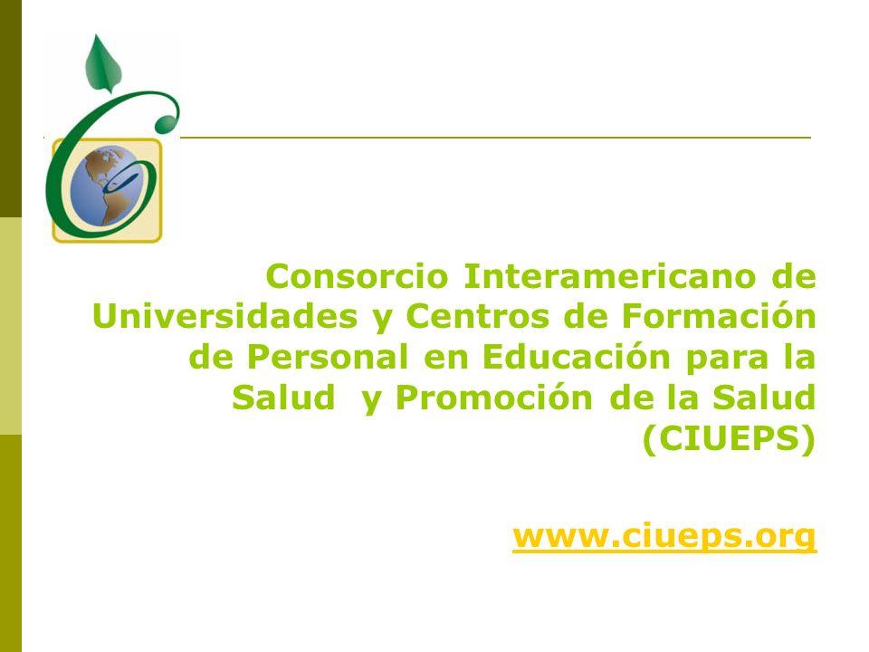 Consorcio Interamericano de Universidades y Centros de Formación de Personal en Educación para la Salud y Promoción de la Salud (CIUEPS)