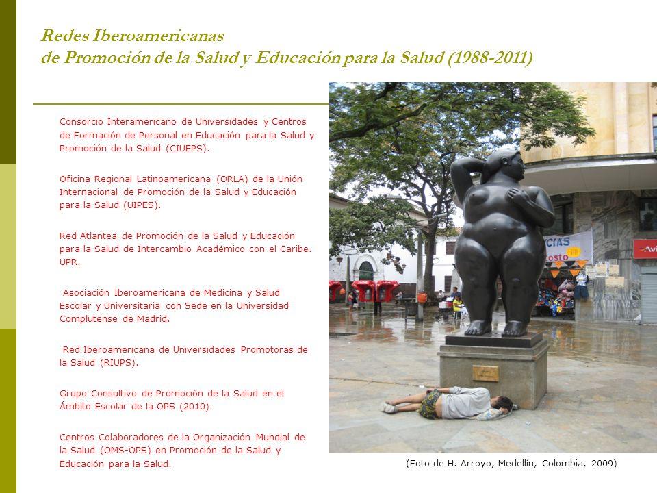 Redes Iberoamericanas de Promoción de la Salud y Educación para la Salud (1988-2011)