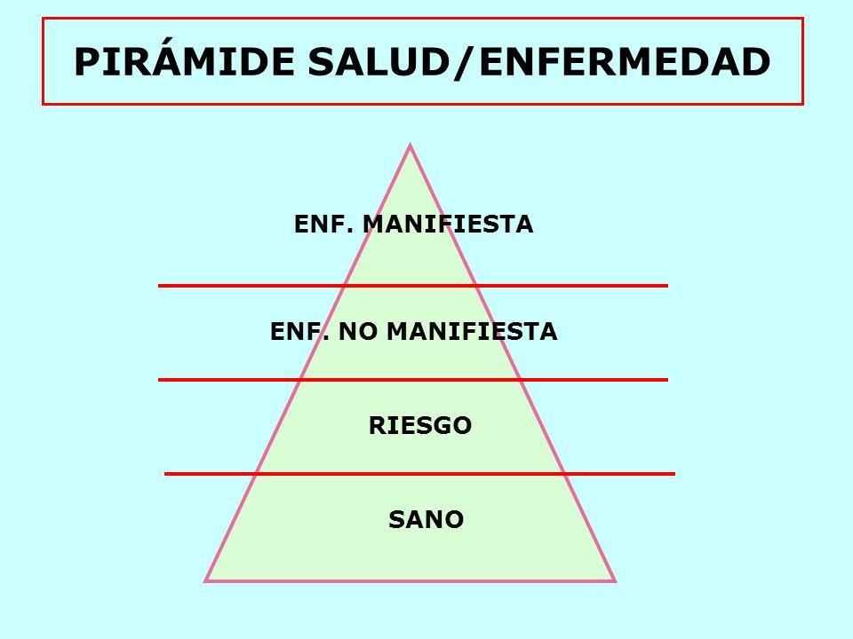PIRÁMIDE SALUD/ENFERMEDAD