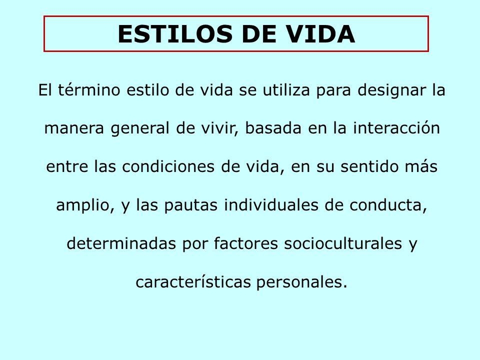 ESTILOS DE VIDA