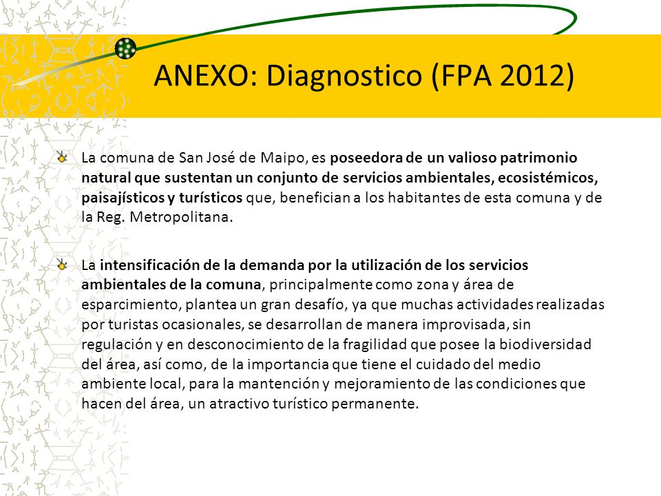 ANEXO: Diagnostico (FPA 2012)
