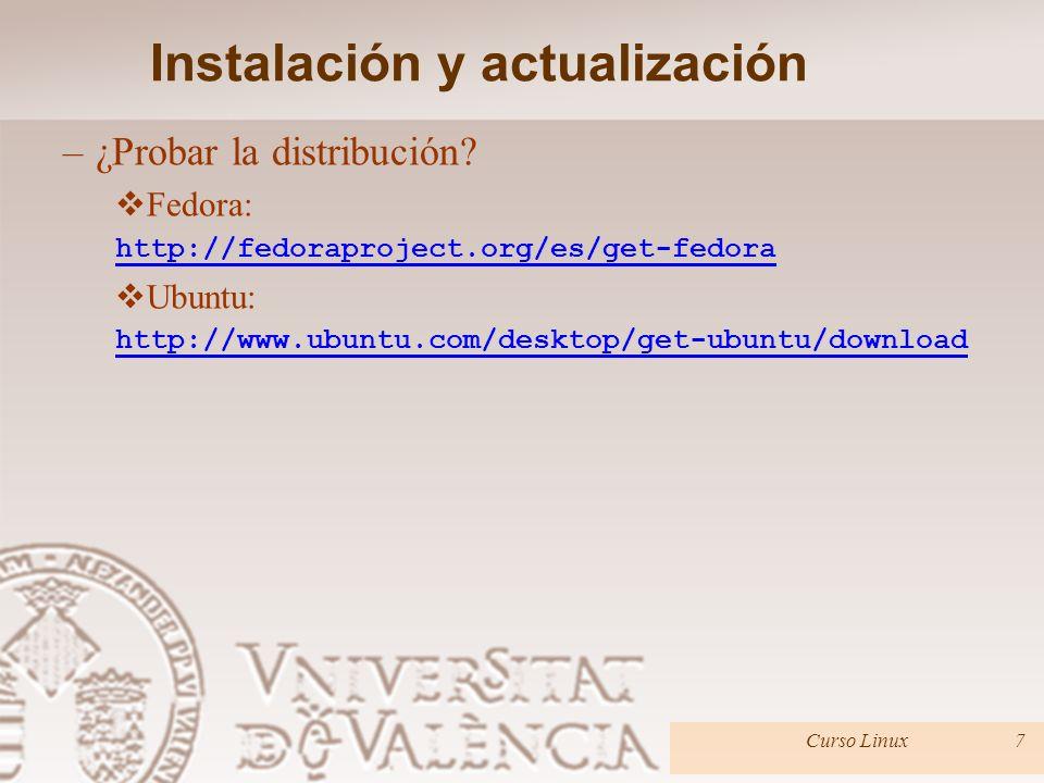 Instalación y actualización