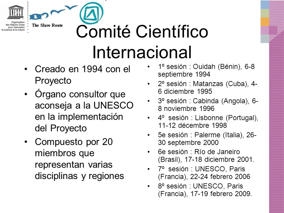 Comité Científico Internacional
