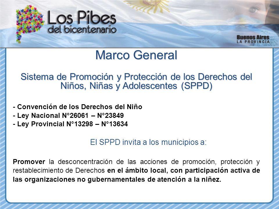 El SPPD invita a los municipios a: