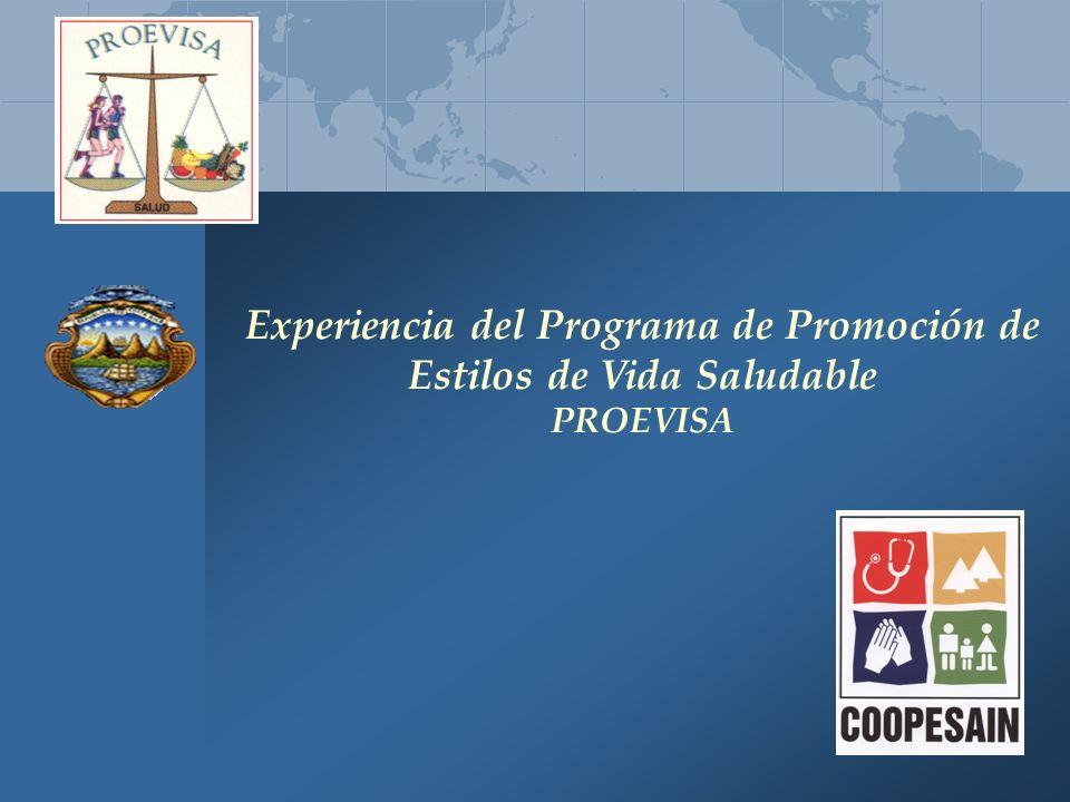 Experiencia del Programa de Promoción de Estilos de Vida Saludable