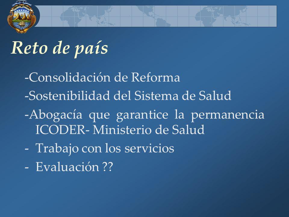Reto de país -Consolidación de Reforma