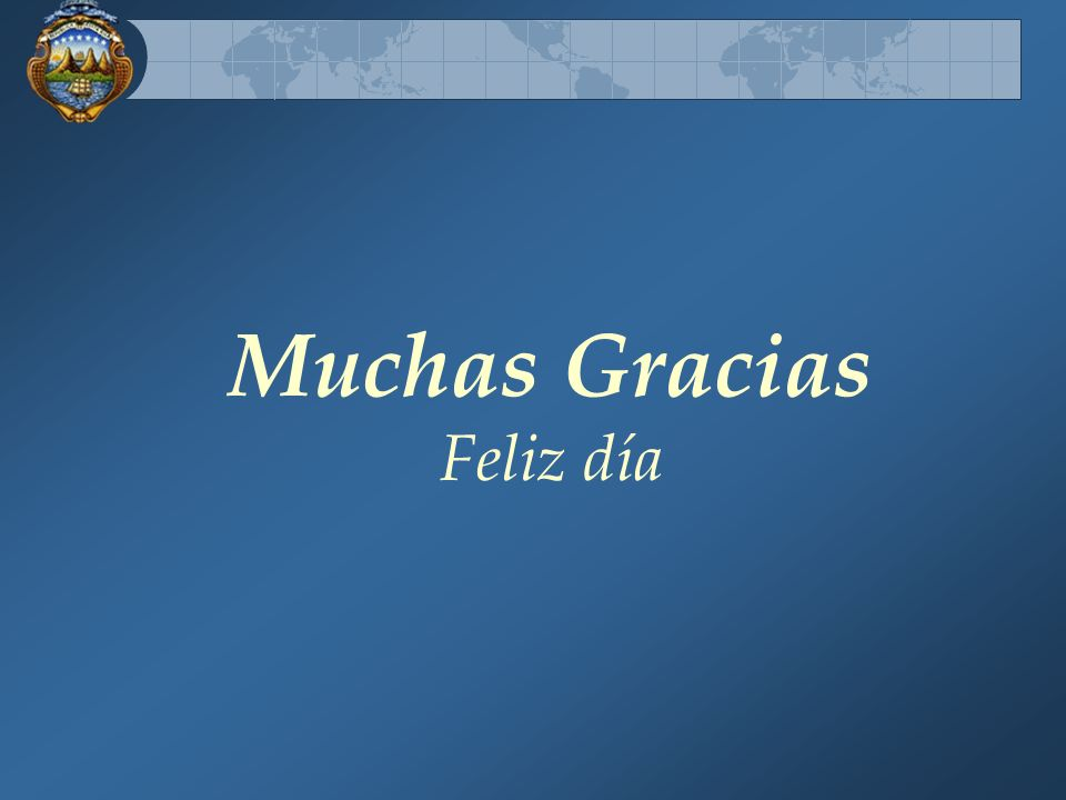 Muchas Gracias Feliz día