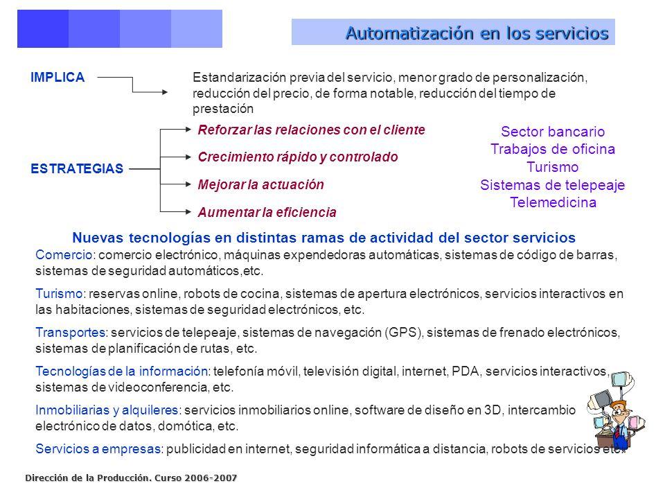 Automatización en los servicios