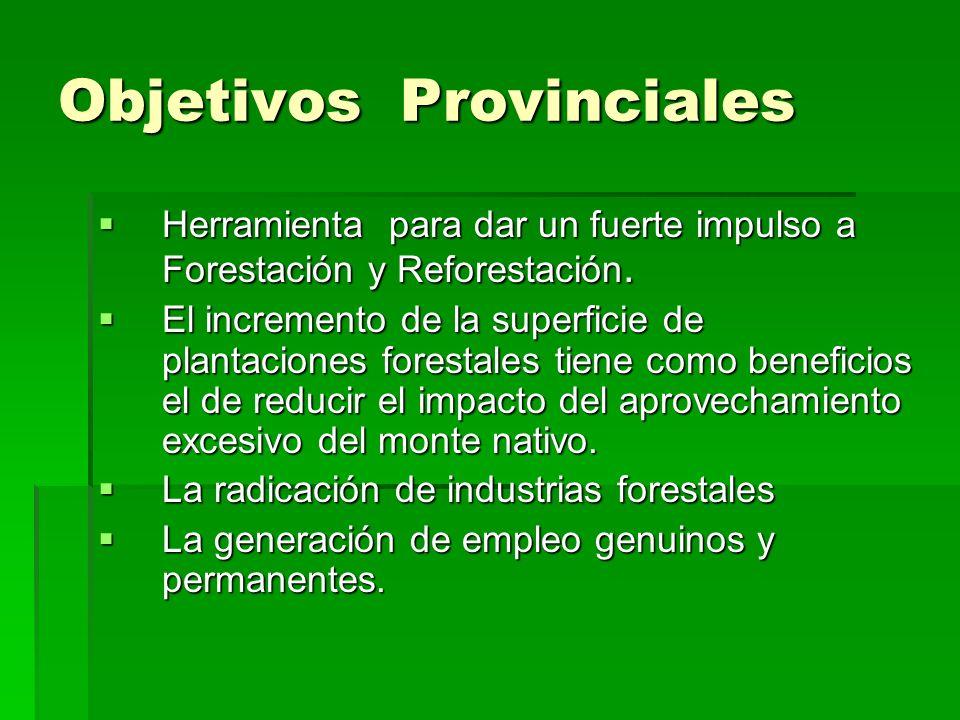Objetivos Provinciales