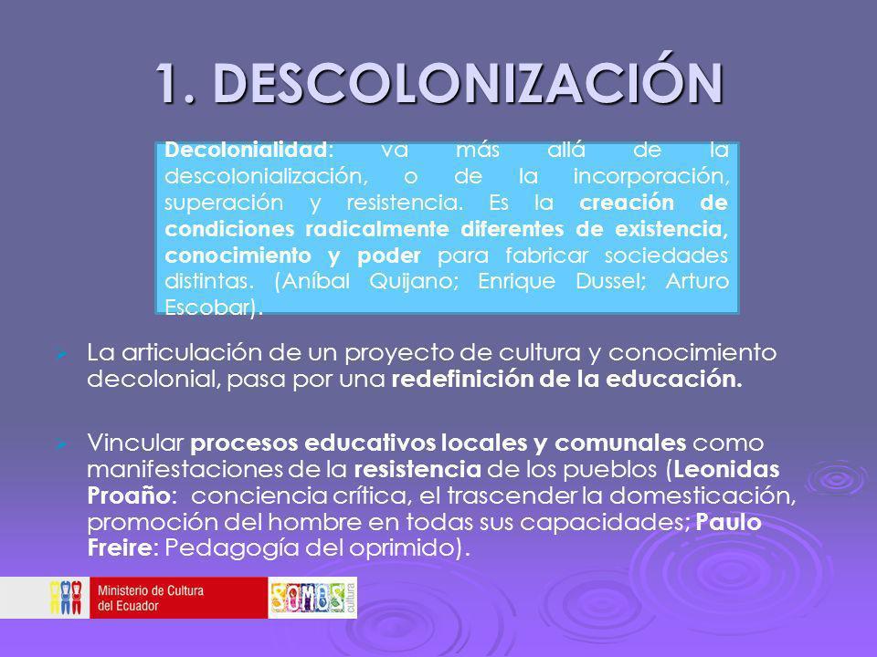 1. DESCOLONIZACIÓN