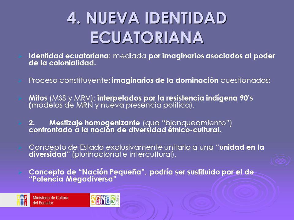 4. NUEVA IDENTIDAD ECUATORIANA