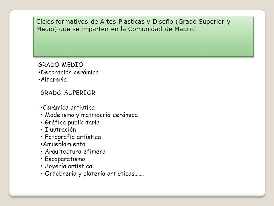 Orientaci n acad mica 4 eso ppt descargar for Grado superior arquitectura