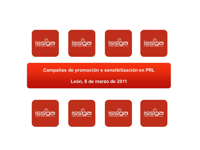 Campañas de promoción e sensibilización en PRL