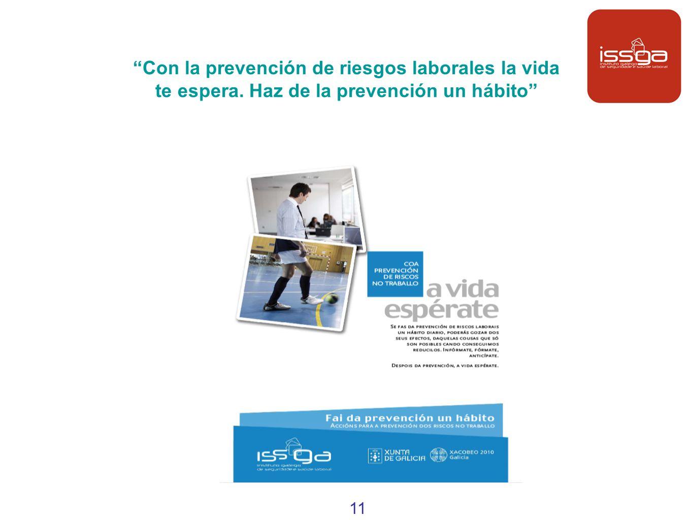 Con la prevención de riesgos laborales la vida te espera